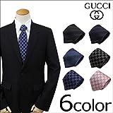 グッチ ネクタイ シルク イタリア製 ギフトケース付 メンズ (並行輸入品)