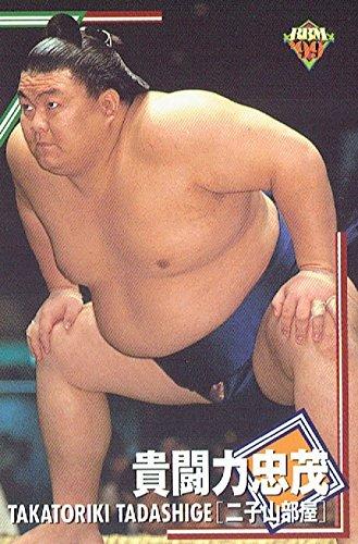 大相撲カード 1999年上半期版 BBM 貴闘力忠茂<30>二子山部屋
