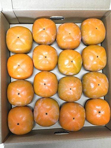 和歌山県かつらぎ町産 平たねなし柿L~3Lサイズ  3.5キ...