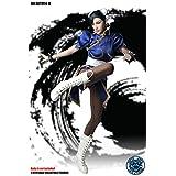 SUPER DUCK 1/6スケール女性素体用衣装セット ヘッドパーツ付 格闘女王 SET014 (SET014A ブルー)