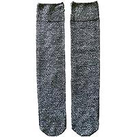 くらしきぬ 冷えとり靴下 お手軽シルク&ウール / かかとなし【日本製】