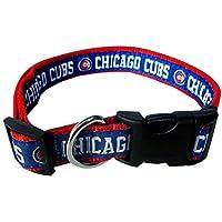 Chicago Cubs Dog Collar Large