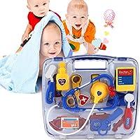 Tivolii 子供用 知育玩具 おままごとセット 子供用 医療キット 医者ケース ナース ロールプレイ おもちゃセット ギフト Tivolii