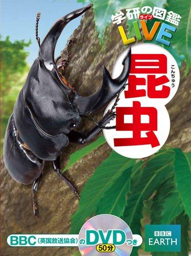 DVD付 昆虫 (学研の図鑑LIVE)