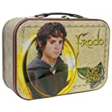 Lunch Box - The Lord Of The Rings - Frodo Hobbit New Tin Metal Case 25306