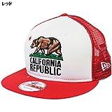 ニューエラ カリフォルニア共和国 メッシュキャップ NEWERA CALIFORNIA REPUBLIC 9FIFTY MESH CAP [帽子 スナップバックキャップ メンズ レディース uvカット ダンス 衣装 ヒップホップ]