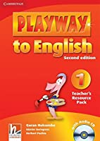 Playway to English Level 1 Teacher's Resource Pack with Audio CD. 2nd.