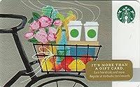 スターバックス スタバ カード 2014 ホリデー99 No.28『自転車でのロマンス』海外版