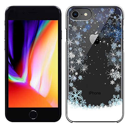 「Breeze-正規品」iPhone ・ スマホケース ポリカーボネイト [透明] Apple iphone 8 iphone8 ケース iphone 8 カバー アイフォン8 ケース SIMフリーカバー 液晶保護フィルム付 全機種対応 [I8]