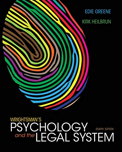 Download Wrightsman's Psychology and the Legal System 1133956564