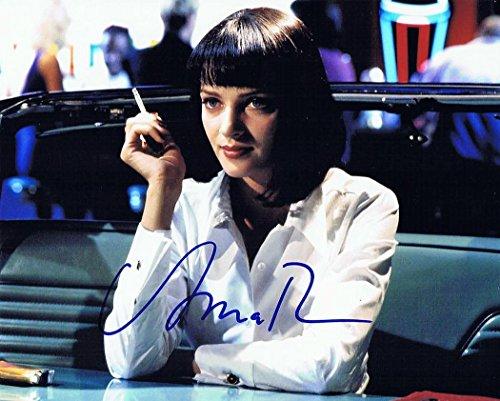 ★直筆サイン◆パルプフィクション◆PULP FICTION (1996) ★ユマ サーマン as ミア ウォレス ★Uma Thurman as Mia Wallace