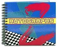 "BookFactory Autographジャーナル/ Autograph Book–48ページ、wire-o withラミネートカラーカバー、ページサイズ6"" x 5"" ( log-048-ccw-a ( Autograph ) )"