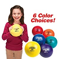 S & s Worldwide S & s Worldwide 15cm Gator Skin Softi Ball-yellow - Single Ball New