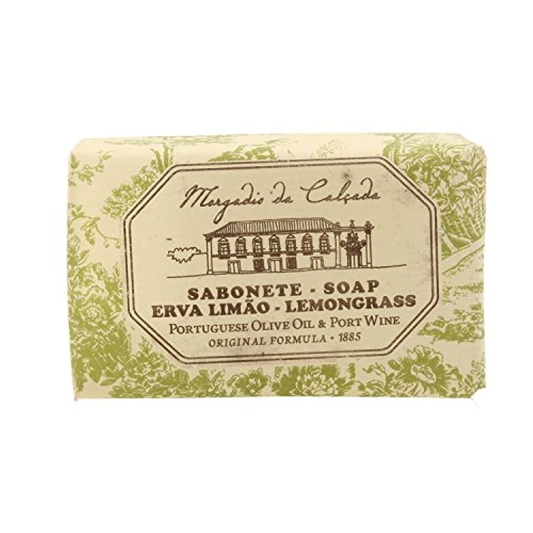デクリメント魔術変色するモルガディオ ダ カルサダ ソープ レモングラス 95g