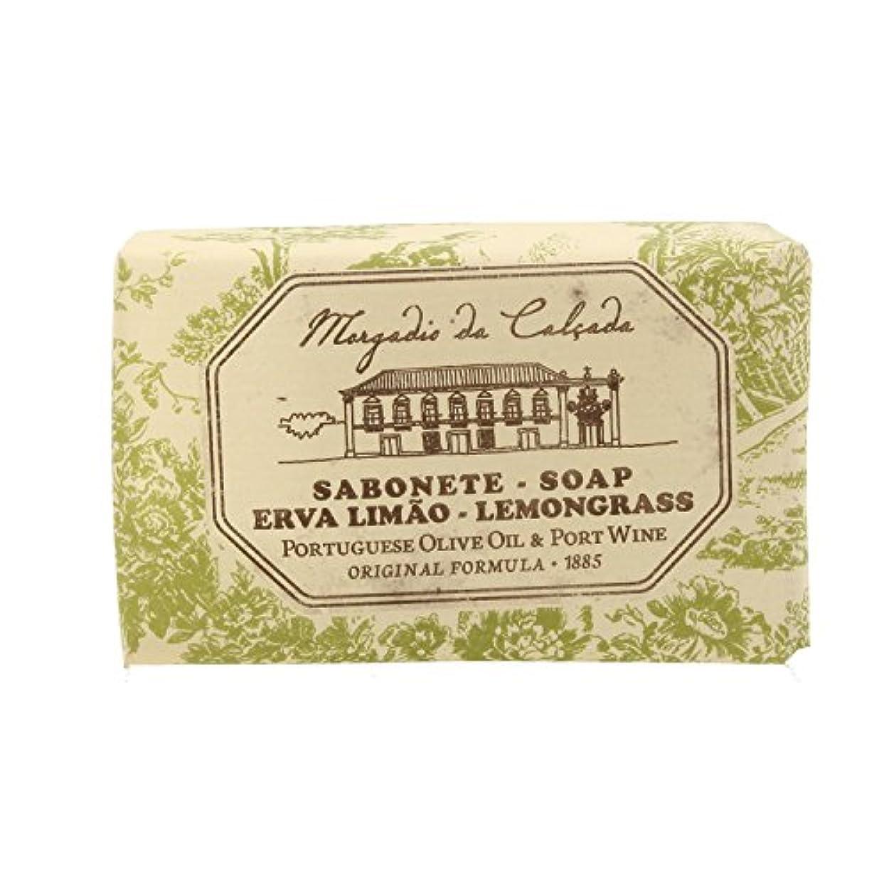 発明する痛い流行しているモルガディオ ダ カルサダ ソープ レモングラス 95g