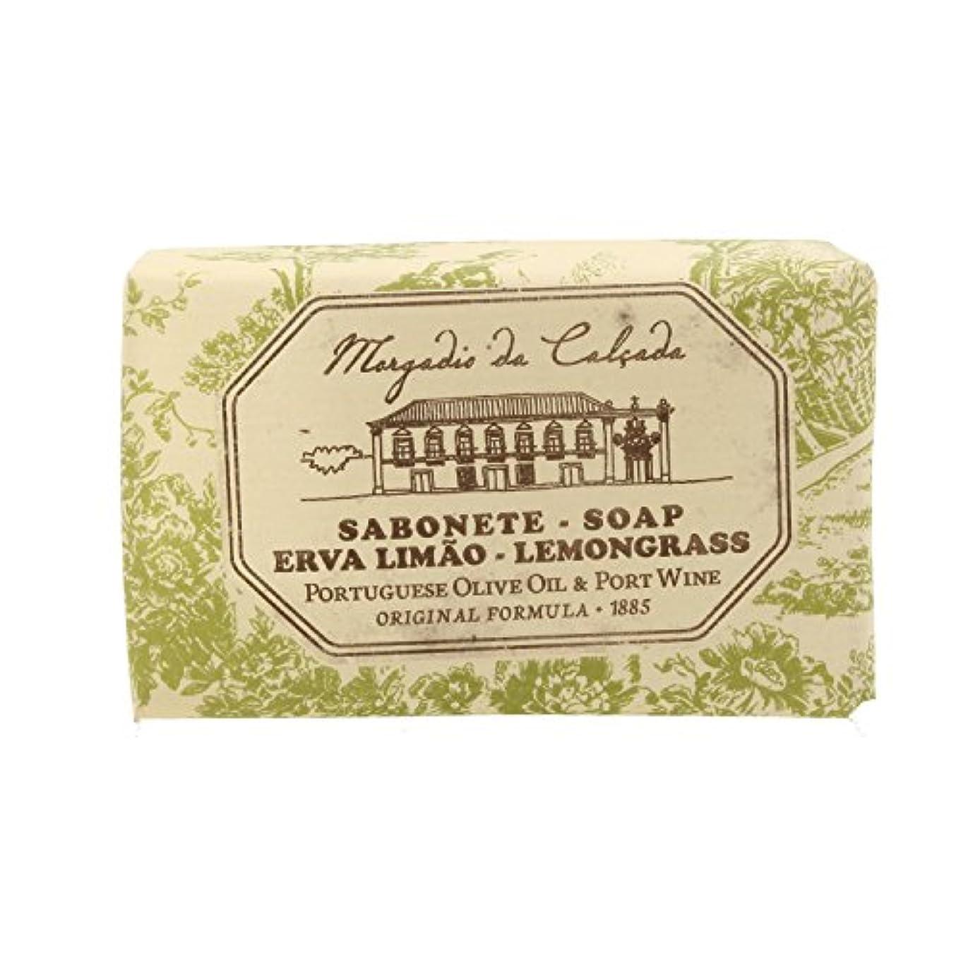 付き添い人テーブルちょっと待ってモルガディオ ダ カルサダ ソープ レモングラス 95g