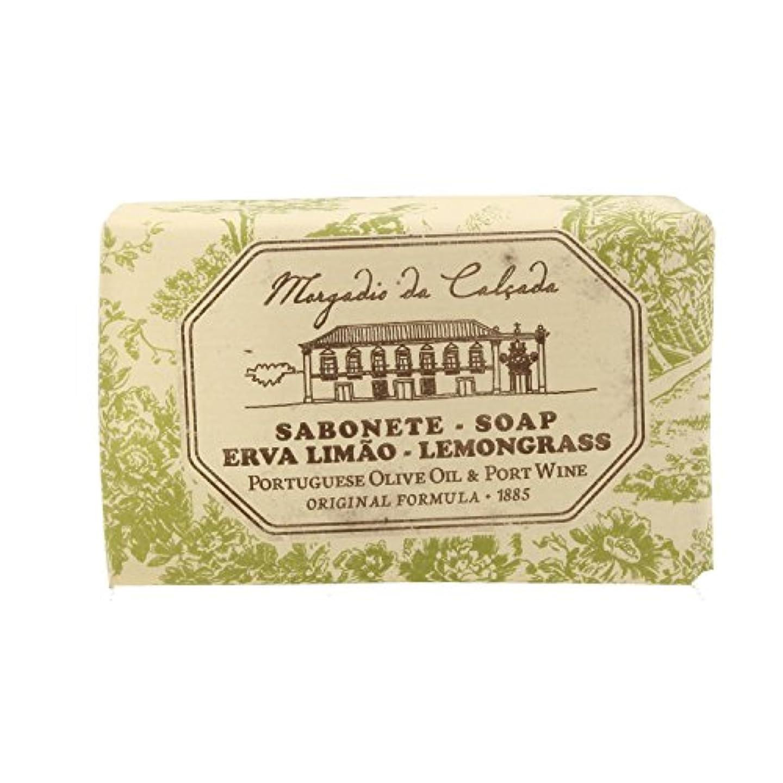 咽頭モトリーソブリケットモルガディオ ダ カルサダ ソープ レモングラス 95g