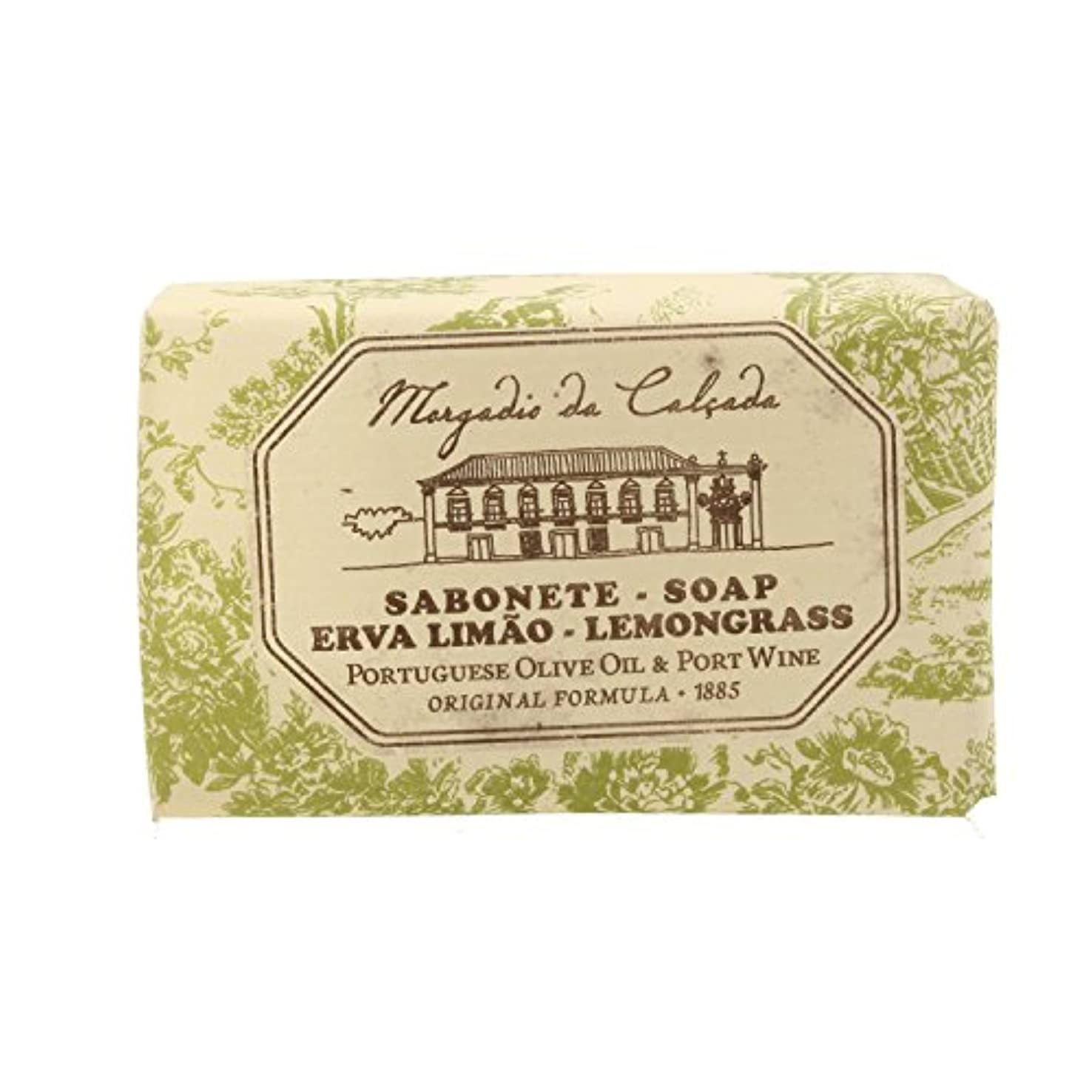 持続的はねかけるアコードモルガディオ ダ カルサダ ソープ レモングラス 95g