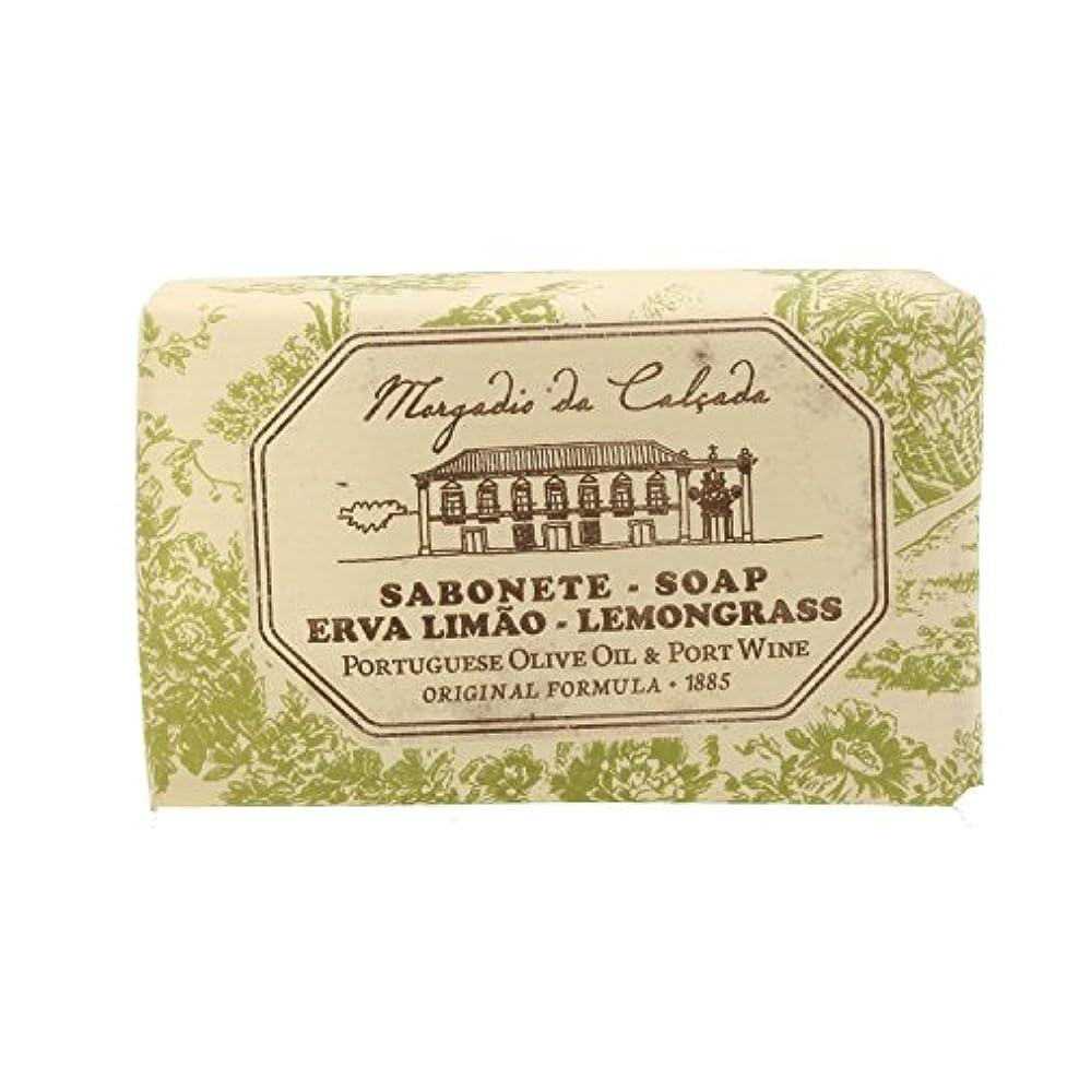 ホイールやるゴシップモルガディオ ダ カルサダ ソープ レモングラス 95g