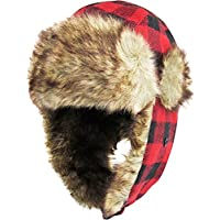 KBETHOS Stay Warm When is Cold Windproof Winter Aviator Collection Trooper Trapper Hunting Hat Aviator Winter USA Flag Ushanka Bike