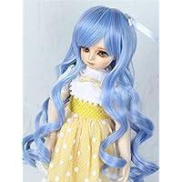 Linfairy 1/3 サイズ ドール用 ウィッグ フィギュア 人形用 BJD Wave Wig (blue)