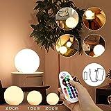 ランプ 間接照明 改良型TeslongR ボールライト リモコンランプ 無線ランプ 16色の変換ランプ IP68防水ライト ムードライト シェードライト フロアライト 卓上ライト ボールライト 災害緊急ライト 常夜灯 北欧風おしゃれLED対応 寝室照明 イ