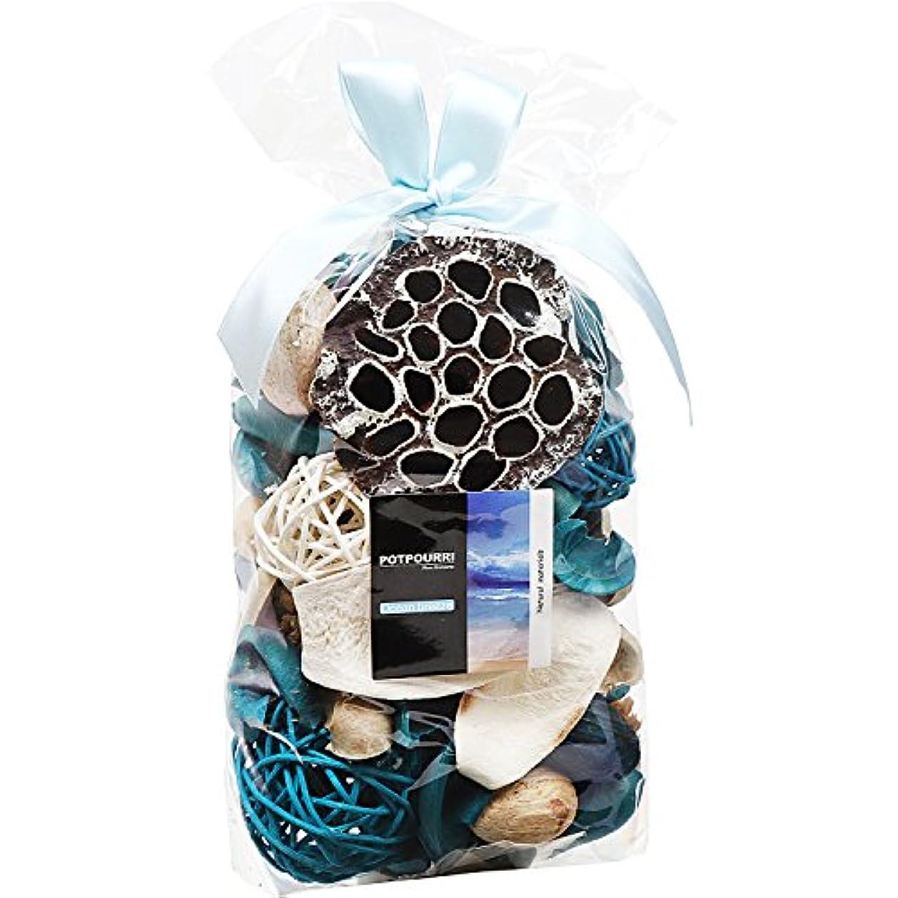 機知に富んだキャンセル圧縮するQingbei Rina ポプリ 青色 300g 海のポプリ ギフト 手作りの自然素材
