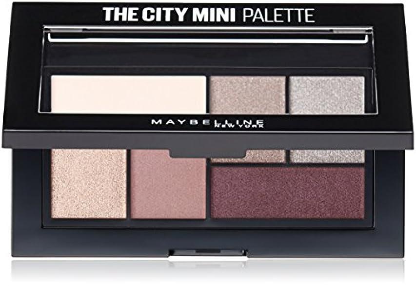 比べるシミュレートする深遠MAYBELLINE The City Mini Palette - Chill Brunch Neutrals (並行輸入品)