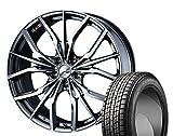 [235/55R20]GOODYEAR / ICE NAVI SUV スタッドレス [2/-][Weds / LEONIS LV (BMC) 20インチ] スタッドレス&ホイール4本セット ムラーノ(Z51系)