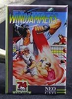 Windjammers冷蔵庫マグネット。neo-geo