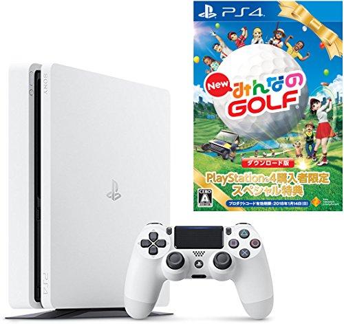 PlayStation 4 グレイシャー・ホワイト 500G...