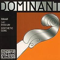 Thomastik Dominant 4/4 Cello String Set Medium Gauge [並行輸入品]