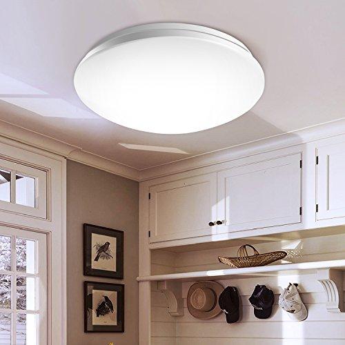 LEDシーリングライト 小型 15W 省エネ 天井照明 ~6畳 洗面所 台所 廊下 階段用 昼光色 LT6D-WH