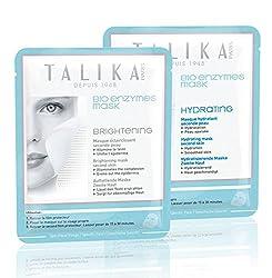 タリカ フェイスマスク お試し2枚セット(ハイドレーティング ブライトニング) TALIKA 保湿・美白フェイスシート | 正規品