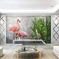 Wuyyii カスタム3 D床の壁紙3 Dスーパーリアル中国風の床絵画水ポリ塩化ビニールの自己接着壁のステッカーの壁紙防水 - 350×250 Cm
