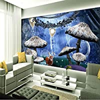 Mingld リビングルームのホームセンターの近代的な壁紙のための3D壁紙の背景の壁画壁画シルク紙ニホンジカ-150X120Cm