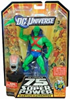 DC Universe Classics Martian Manhunter Figure w/ Weapon Hand by Mattel