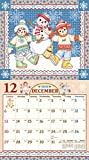 【メーカー直販 正規品】 Raggedy Ann&Andy(ラガディ・アン&アンディ) 2020年壁掛カレンダー ジョニー・グルエル 原作絵本 アメリカ キャラクター aa170 画像