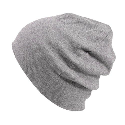 (カジュアルボックス) 医療用帽子 天竺ガーゼ オーガニックコットン 帽子日本製 男女兼用 charm フリーサイズ ライトグレー