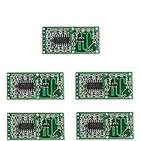 Ren He RCWL-0516スイッチモジュールヒューマンインダクションボード検出器 マイクロ波レーダーセンサー 5個