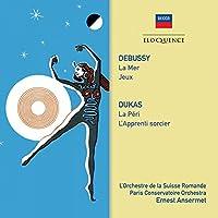 ドビュッシー:海(1957)、遊戯(1953)、デュカス:魔法使いの弟子、ラ・ペリ エルネスト・アンセルメ&スイス・ロマンド管弦楽団、パリ音楽院管弦楽団