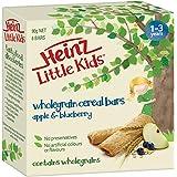 Heinz Little Kids Wholegrain Cereal Bars - Apple and Blueberry, 90g