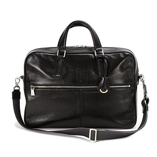 アニアリ ビジネスバッグ ブリーフ Antique Leather 01-01006 Black