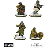 Warlord Games, Soviet HQ (Winter), Bolt Action Wargaming Miniatures