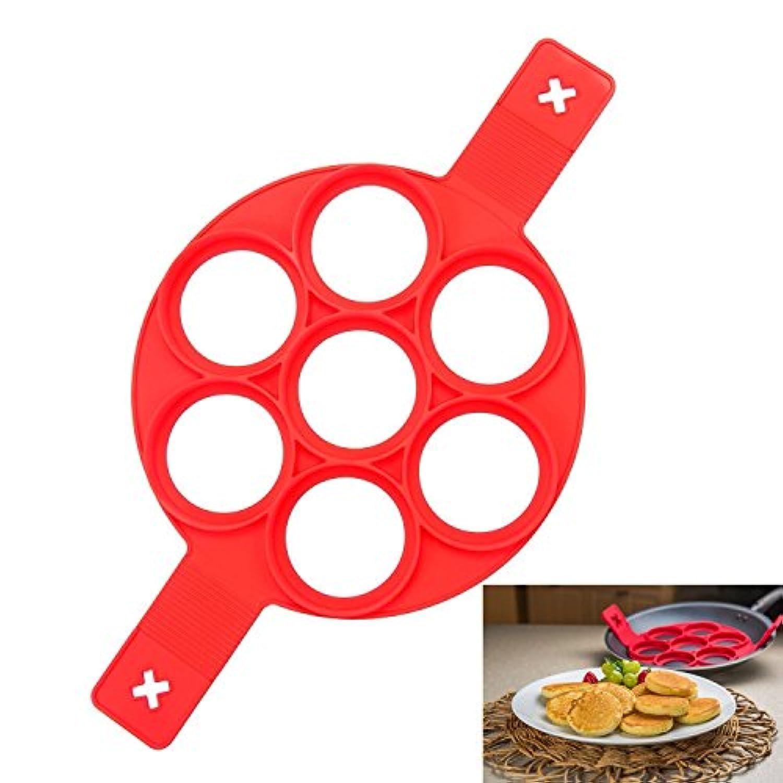 LEAP 目玉焼き グッズ 柄手付き フライパン シリコンパンケーキメーカー タルト型 製菓道具