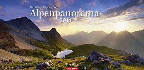 Alpenpanorama - Kalender 2018