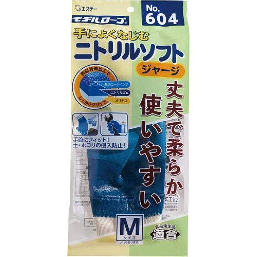 それぞれ食品邪悪なモデルローブ ニトリルソフト(ジャージ) No.604 M