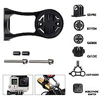 自転車コンピューターカメラホルダーアルミ合金自転車電話ホルダー