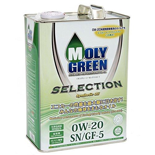 モリグリーン (Moly Green) ガソリンエンジンオイル セレクション 0W20  0470076 B01MAWKDKP 1枚目