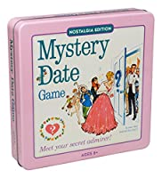 Mystery Date Classic Board Game With Nostalgic Tin Case by Winning Solutions